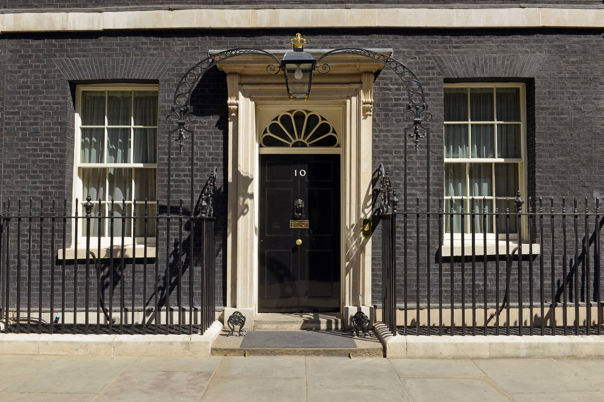 A visit to 10 Downing Street